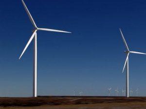 Danmark har mange vindmøller